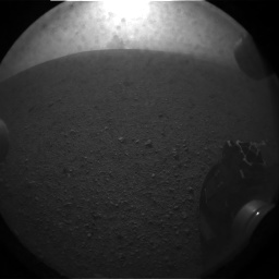Erstes Bild des MSL Curiosity