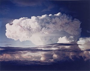 Pilzwolke des Ivy-Mike-Kernwaffentests