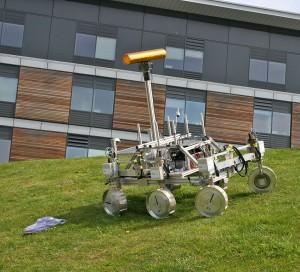 Prototyp des ExoMars Rovers